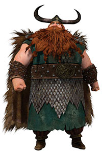 The ideal Viking leader, Stoick is the chief of the Hairy Hooligan tribe on the island of Berk. Strong, big and stubborn, Stoick initially didn't believe his son, Hiccup, could ever be a Viking warrior. But after the battle against the Red Death, Stoick changes his mind about Hiccup and dragons, welcoming the creatures into […]