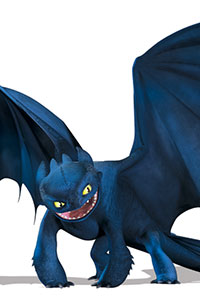 Toothless is the only living Night Fury, the rarest and most intelligent dragon species there is. He is the first dragon to ever be trained, and is best friends with Hiccup. The two bond when Hiccup helps him fly again, and the two lead the battle against the Red Death. Toothless is playful, curious and […]